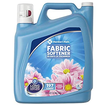 Member's Mark Liquid Fabric Softener, Spring Flowers Scent