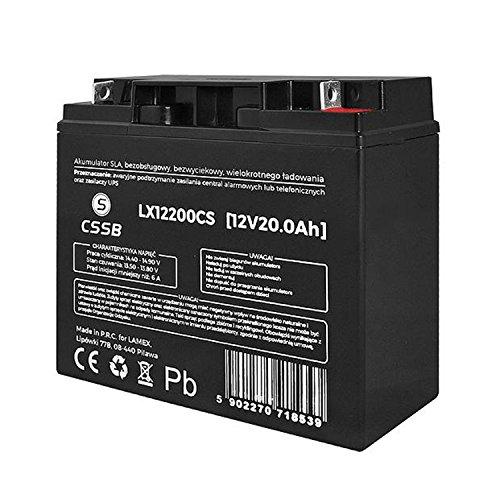 CSSB Gelakku AGM Gelakkumulator (12V 20Ah)