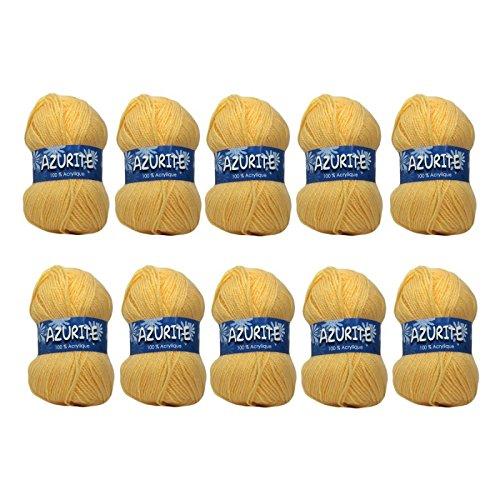 Distrifil - 10 pelotes à tricoter Distrifil AZURITE 0030 pas cher 100% acrylique - 0030