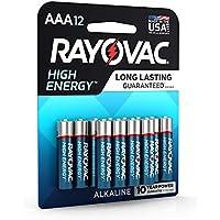 12-Count Rayovac 824-12CF Alkaline AAA Batteries
