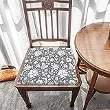 Cojín de asiento para silla, espuma de memoria, color gris, cojín de asiento para oficina, hogar o coche sentado