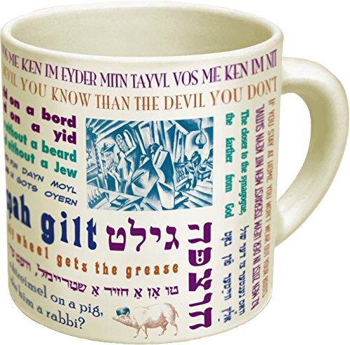 Rockin Robot Yiddish Proverbs Mug tasse