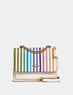 Leather Klare Crossbody Ombre Quilted Stripe Bag