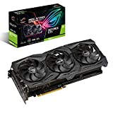 ASUS Carte Graphique ROG-STRIX-GTX1660TI-6G-GAMING (Nvidia GeForce GTX 1660Ti, 6Go...