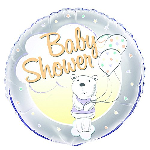 Unique Party 56689 45,7 cm folie schattige bear baby douche ballon