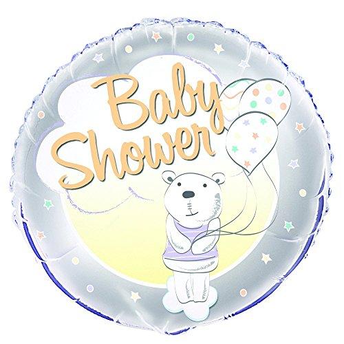Unique Party 56689 45,7 cm folie schattige bear baby douche ballon