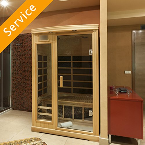 Indoor Sauna Assembly - 1 Person Sauna