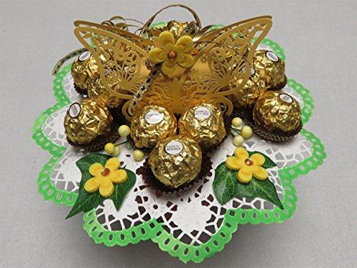 Geschenk-Strauss 01-047 Schmetterling Strauss Rocher
