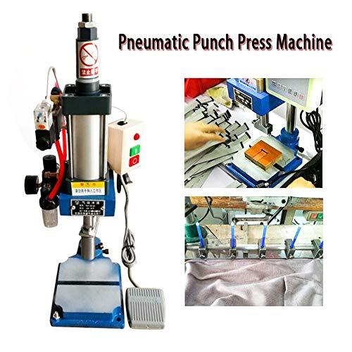 Punch Machine TBVECHI 110V Pneumatic Press Machine Small Desktop Punch Machine 160KG 0.8Mpa (USA STOCK)