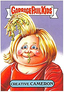 Creative Cameron trading card Garbage Pail Kids 90s 2019 Film #17a (Cameron Diaz Something About Mary spoof)