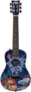 Disney Pixar Cars 2 Finn Mater Spy Children's Acoustic Guitar First Act Level 3 Ages 4 Spy Explosion Blue