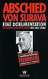 Abschied von Surava: Eine Dokumentation /mit Filmdrehbuch: Pressezensur in der Schweiz im Zweiten Weltkrieg - Erich Schmid