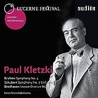 Paul Kletzki conducts Brahms, Schubert & Beethoven by Schweizerisches Festspielorchester