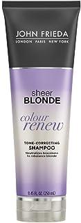 John Frieda Sheer Blonde Colour Renew Purple Shampoo, 8.45 Ounces (Pack of 2)