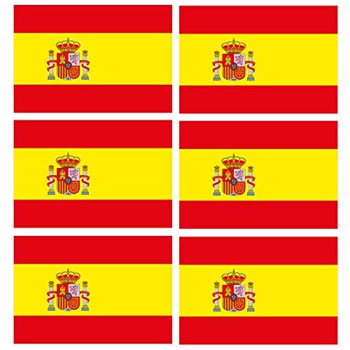 Custom Vinyl Español Bandera Nacional de España Espana 40 mm (1,6
