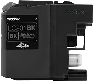 Brother Genuine Standard Yield Black Ink Cartridge, LC201BK, Replacement Black Ink, Page Yield Up To 260 Pages, Amazon Das...