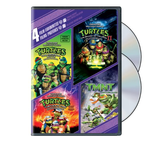 Teenage Mutant Ninja Turtles: The Original Movie / The Secret Of The Ooze 2 / Turtles In Time 3 / TMNT