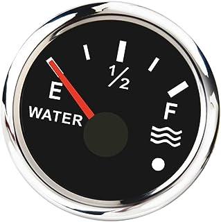 Stainless Steel Water Level Gauge Boat Water Tank Level Gauge Ip67 Black