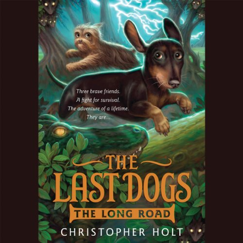 The Last Dogs audiobook cover art