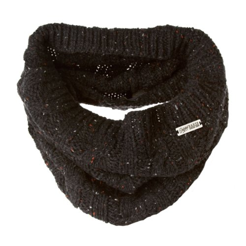 Barts Gus Col Snood Scarf - Black