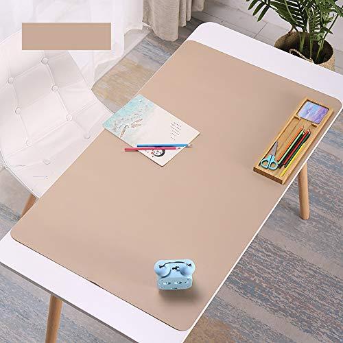 Alfombrilla escritorio impermeable piel sintética