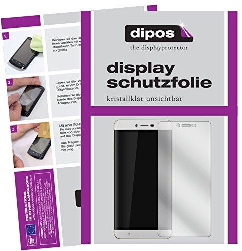 dipos I 6X Schutzfolie klar kompatibel mit Coolpad Torino R108 Folie Bildschirmschutzfolie