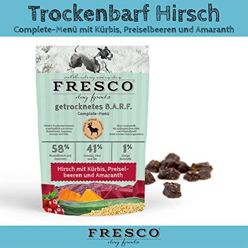 Fresco Dog Complete-Menü Hirsch 1kg
