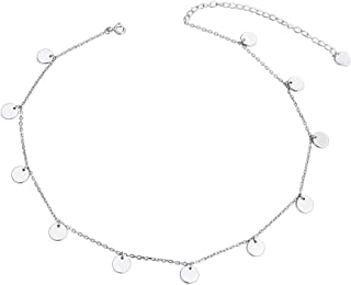 Best small disc necklace Reviews