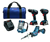 Bosch 18V Lithium-Ion Cordless Two Tool Combo Kit from Bosch