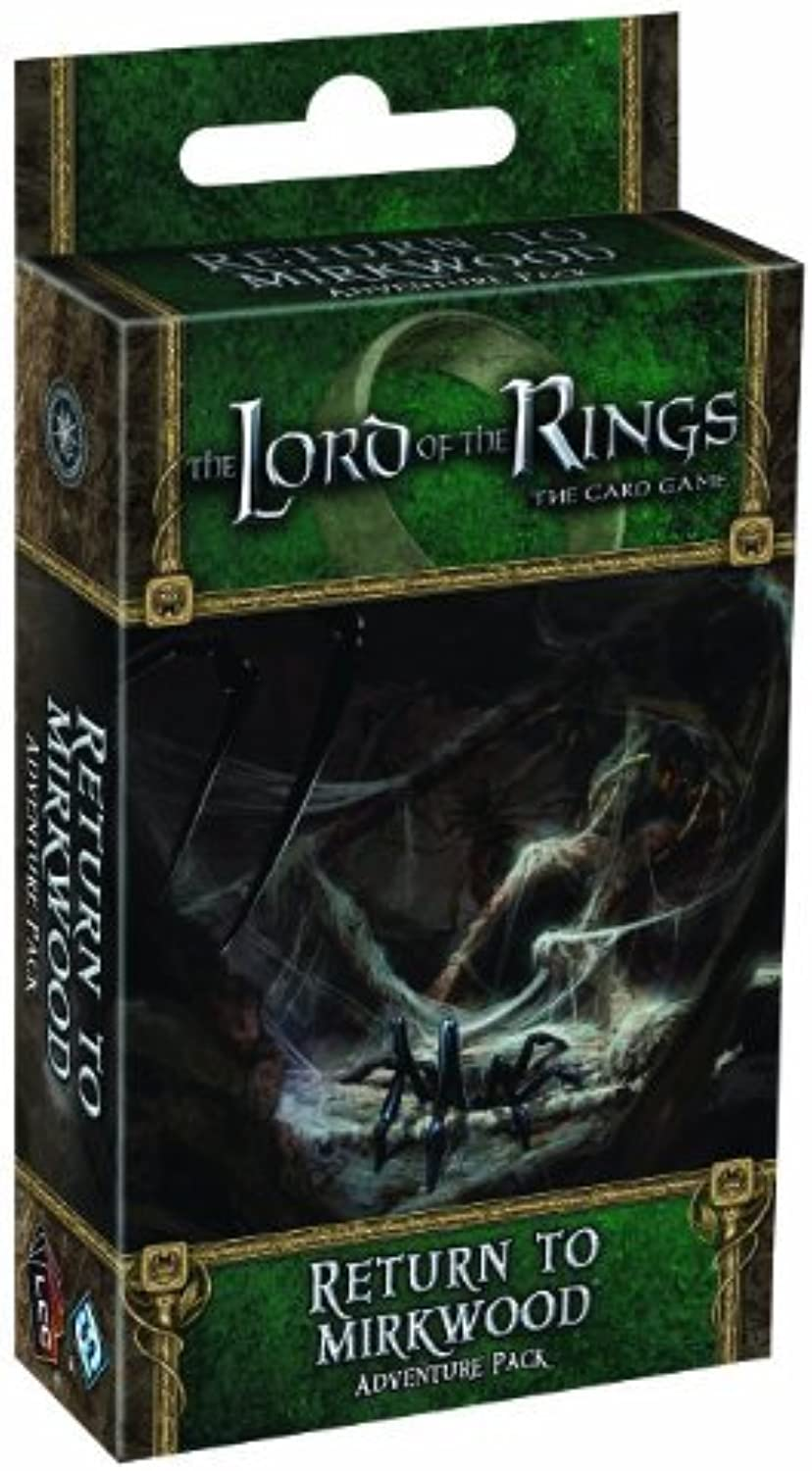 The Lord of the Rings  The Card Game Return to Mirkwood Adventure Pack (October 15,2011)