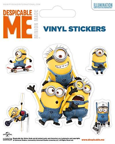 Despicable Me Vinyl-Aufkleber, Papier, Mehrfarbig, 10 x 12.5 cm