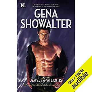 Jewel of Atlantis audiobook cover art