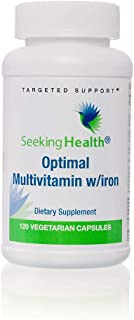 Optimal Multivitamin With Iron | Includes 45 mg of Gentle, Chelated Iron | Contains Active Forms of B Vitam...