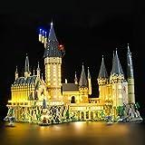 BRIKSMAX Kit de Iluminación Led para Lego Harry Potter Castillo de Hogwarts ,Compatible con Ladrillos de Construcción Lego Modelo 71043, Juego de Legos no Incluido