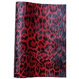 Meneng Leopardenmuster für Haarschleifen, 23 x 135 cm
