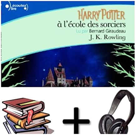 Harry Potter, I : Harry Potter a l' ecole des sorciers Audiobook PACK [book + 1 CD MP3]