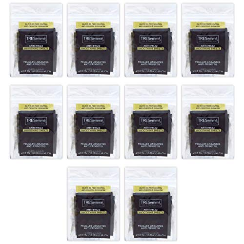 Tresemme Anti-Frizz Smoothing Sheets 6 Count (10 Pieces)