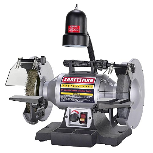 Craftsman Professional Variable Speed 8' Bench Grinder (21162)