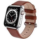 Fullmosa kompatibel mit Apple Watch Armband 44mm 40mm 42mm 38mm, Lederband Ersatzband für Frauen...