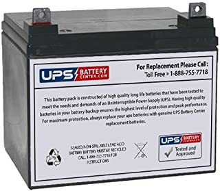 Spin It Golf GC1R Golf Caddy 12V 35Ah Deep Cycle Replacement Battery