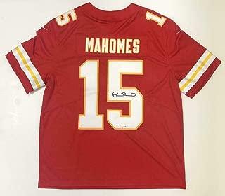 PATRICK MAHOMES Autographed Kansas City Chiefs