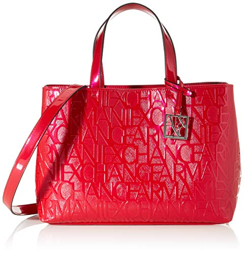 Armani Exchange Liz-Medium Shopping Tote, 16 x 35 x 24...
