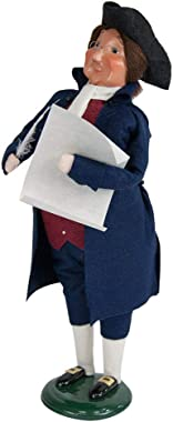 Byers' Choice Ben Franklin Caroler Figurine #ZBC21X from The Historical Collection