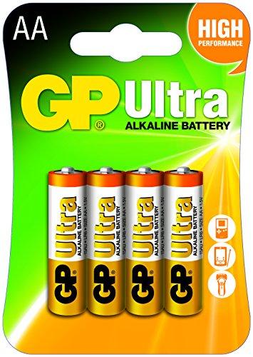 GP Batterien Alkaline (AA, Mignon, LR 06, 1,5V), 4er