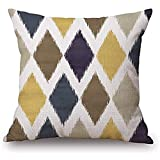 Federa per cuscino di forma geometrica, adatta per casa, sedile, famiglia, ragazzi, ragazzo, ragazze adolescenti ogni lato