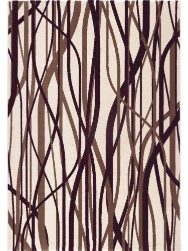 Lars Contzen Teppich Whispering Grass 995 braun 80 x 150 cm Design Teppich