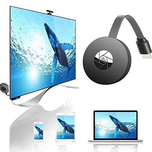 Drahtloser HDMI-Adapter Mirrorscreen,Unterstützung Android/IOS/PC/TV/Monitor/Projektor