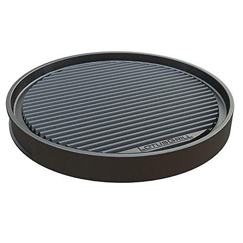 LotusGrill TP-AL-435 - Placa de aluminio fundido (tamaño XL, 435 mm de diámetro)