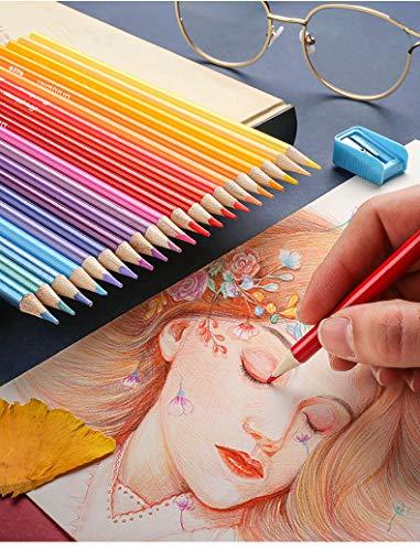 Brutfuner Lápices de color al óleo profesionales 120/160 colores (120)