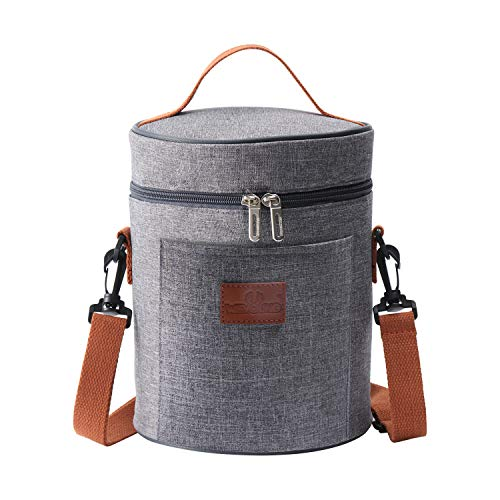 Insulated Lunch Bag Thermal Cooler Lunch Tote Bag Portable Lunchbox Reusable Food Bag for Women Men Kids Picnic Travel Hiking … B8023